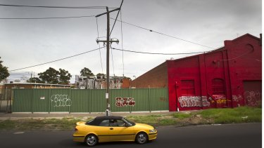 The South Melbourne power substation has occupied the site since 1965.