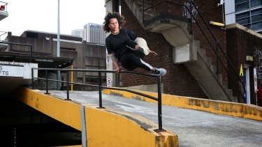 TEDx Sydney speaker Karen Palmer says parkour taught her how to overcome fear.