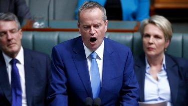 Opposition leader Bill Shorten told Parliament House on Thursday that Labor would stand with LGBTI people.