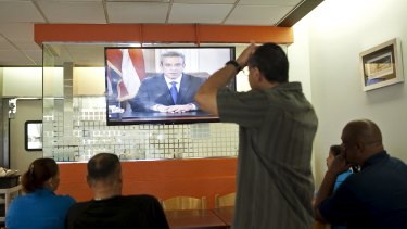"Puerto Rico's governor, Alejandro Garcia Padilla, said on Sunday that its debt was ""not payable""."