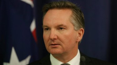 """Chris Bowen says Labor is """"open to new ways to better invest in infrastructure''."""
