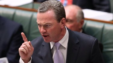 Christopher Pyne's bill would deregulate university fees and slash funding for degrees by an average of 20 per cent.