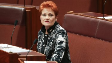 Senator Pauline Hanson has at last given unoppressed white people a voice.