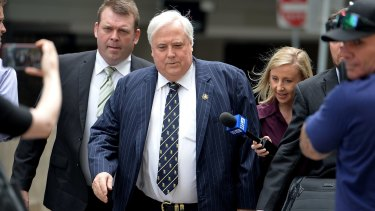 Clive Palmer will this week give evidence in court over the collapse of Queensland Nickel.