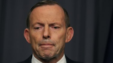 Prime Minister Tony Abbott reminded us a few months ago that he is also on probation.