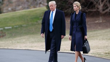 Six in 10 Americans say they disapprove of the major White House roles Trump has given to his daughter Ivanka and her husband, Jared Kushner.