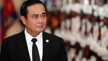 'No longer a soldier': Thai PM Prayuth Chan-ocha.