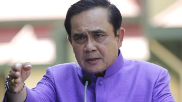 """Thailand's Prime Minister Prayuth Chan-ocha: """"Please explain to foreign countries or they may think I am intoxicated with power,"""""""