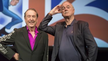 John Cleese and Eric Idle Together Again At Last ... For the Very First Time.