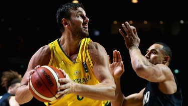 Time is right: Andrew Bogut believes the Boomers can finally win an Olympic medal in Rio.