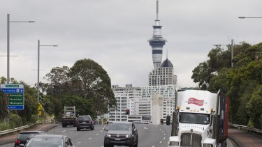 Getting crowded: Auckland, New Zealand