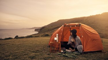 Camping can be a great way to relax – and a cheap holiday.