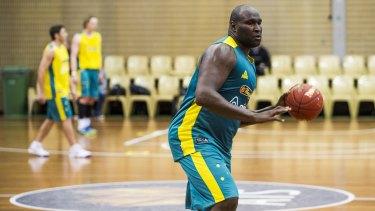 Rebounding: Centre Nathan Jawai.