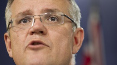 Social Services Minister Scott Morrison is leading the government's budget sell.