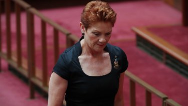 Government MPs are criticising One Nation more and more since the WA election.