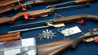 Most of those guns were stolen in rural and regional areas from homes or rural dwellings including farm houses.