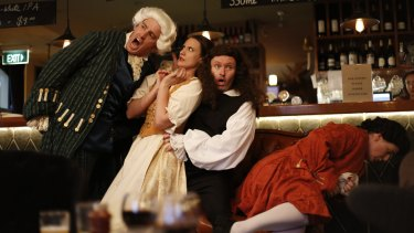 Opera Bites stages popular arias in inner city pubs and clubs.