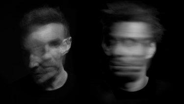 The return of Massive Attack: Robert del Naja and Grant Marshall.