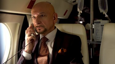 Angry magnate: Ben Kingsley is an egotistical bully offered the chance of a new life in <i>Self/less</i>.