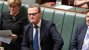 Former education minister Christopher Pyne.