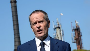 """Bill Shorten says changes to budget accounting are an """"admission of failure""""."""