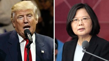 Trump broke decades of diplomatic protocol when he spoke with Tsai on the phone.