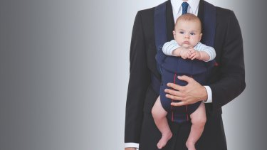 Too many men pretend they don't have family responsibilities while at work.