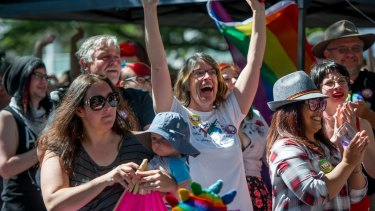 Canberrans react to the 'yes' vote.