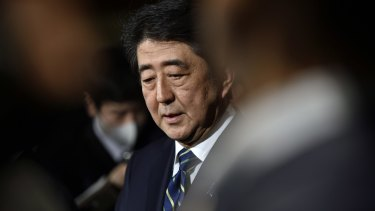 Japanese sources say Prime Minister Shinzo Abe is considering calling Malcolm Turnbull to ensure his country remains a contender for the submarine contract.