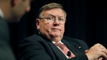 Anthony Albanese and Max Moore-Wilton (pictured) have had a long-running feud over a second Sydney airport.
