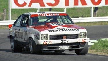 Peter Brock/Jim Richards 1978 Bathurst-winning Torana A9X.