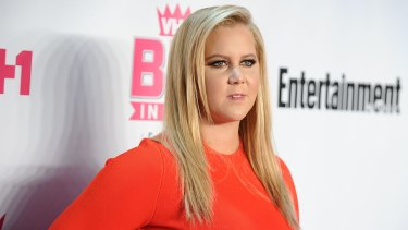 "Comedian Amy Schumer says living with a parent with MS makes you focus on the ""serious questions""."