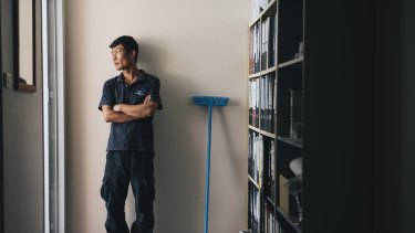 ACT school cleaner Htoo Ywai was among non-English-speaking workers who claimed they were being underpaid.