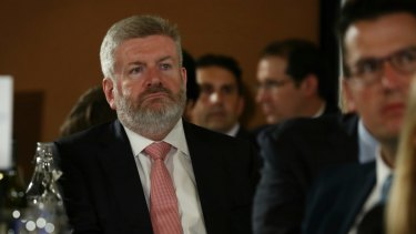 """Communications Minister Mitch Fifield will introduce the media reform package to the House of Representatives on Thursday, saying Ten's voluntary administration is a """"wake-up call""""."""