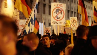 Right-wing groups have gained traction in Germany since the open-door refugee policy came into place.