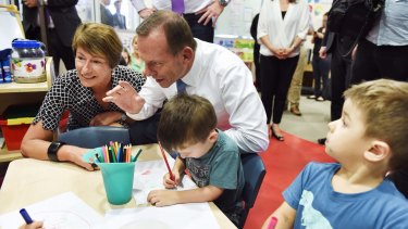 Tony Abbott has defended taxpayer subsidies for childcare against criticism that it is more middle-class welfare.
