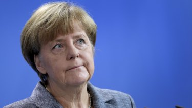 "The German response ""can make us proud"", Chancellor Angela Merkel said."