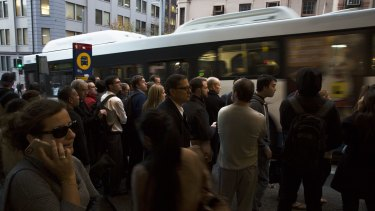 An overhaul will affect all bus commuters travelling into central Sydney.