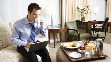 Australian business travellers like having breakfast included in the price of the stay.