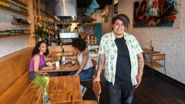 Mabu Mabu cafe owner and chef Nornie Bero.