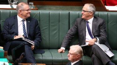Malcolm Turnbull has taken a punt on Scott Morrison.