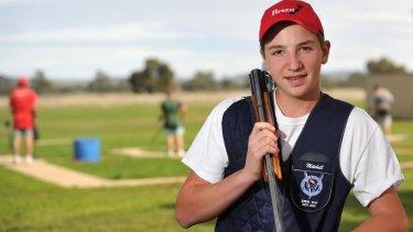 Young gun: Mitchell Iles.