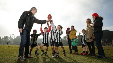 Grassroots: The first people of Australian football are the volunteers.