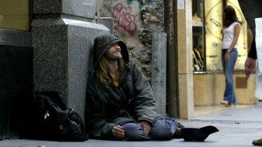 Sydney has the biggest homeless population in Australia.