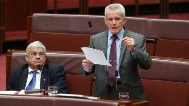 Senator Malcolm Roberts put the skills of Hansard reporters to the test.