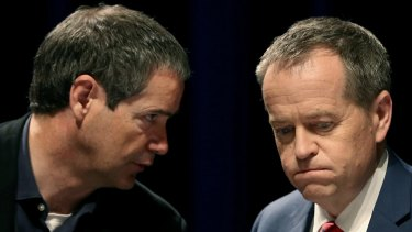 A new branch-stacking scandal threatens to engulf Senator Stephen Conroy (left) and Opposition Leader Bill Shorten.