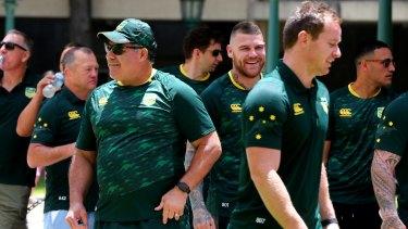 A players' coach: Mal Meninga has brought harmony to the Australian team.