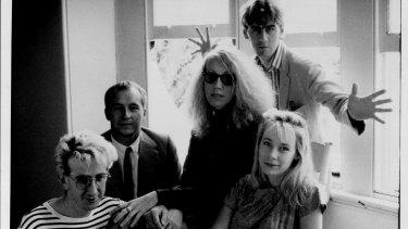 The Go-Betweens in 1988.