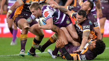 The Storm and Broncos meet in a late-round blockbuster.
