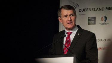 Lord Mayor Graham Quirk flagged the announcement at the Queensland Media Club earlier this month.